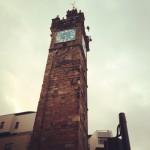 トルブースの時計台。処刑された首が晒された所。この名前「税金取るブース」って意味なんだって!(°⌓°)