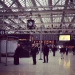 今日はアドベンチャーだよ!というわけで、グラスゴーセントラル駅に来ました。