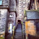 こんなとこで勉強なんて!エディンバラ大学はスコットランドの最高学府。